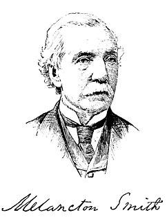 Melancton Smith American politician