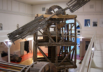 Alexandru Tzigara-Samurcaș - A village mill, preserved in the Museum of the Romanian Peasant