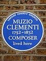 MUZIO CLEMENTI 1752-1832 COMPOSER lived here.jpg