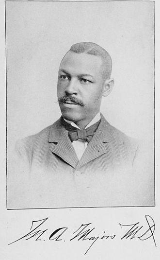 Monroe Alpheus Majors - Majors in 1893