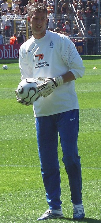 Maarten Stekelenburg - Stekelenburg with the Netherlands national team