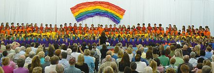Lower School students at Maclay School celebrating Grandparents Day in 2008 MaclayLowerSchl-1.JPG