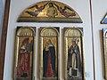 Madonna col Bambino tra i ss. Girolamo e un santo vescovo e nella lunetta Cristo in pietà tra angeli di Jacopo, Gentile e Giovanni Bellini (1).JPG