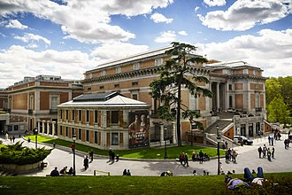 Museo del Prado - Exterior of the Prado Museum