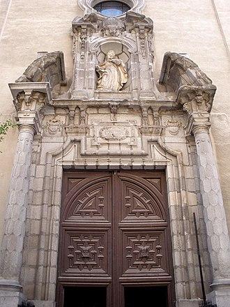 Pablo González Velázquez - Facade of the Church of Carmen Calzado in Madrid, Spain by Pablo González Velázquez
