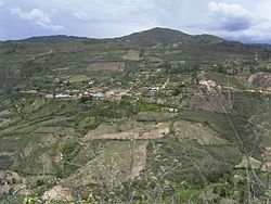 Magdalena as seen from the district of Tingo