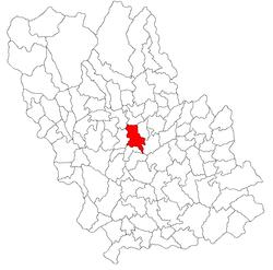 Vị trí của Magurele