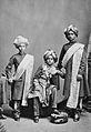 Maharajah of Mysore and Princes 1887.jpg