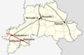 Mahilioŭskaja voblasć, Belarus (railroads) — Железные дороги в Беларуси, Могилёвская область.png