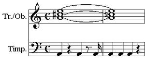 Symphony No. 6 (Mahler) - Image: Mahler 6 fate motif