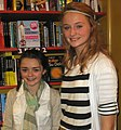Maisie Williams and Sophie Turner 2009 (cropped).jpg