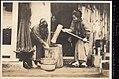 Making Rice Cakes, Japan (1914 by Elstner Hilton).jpg