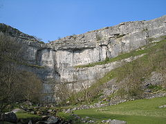 Malham Cove Becomes a Wonderful Waterfall for the First Time in Centuries
