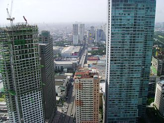 Mandaluyong - Intersection of EDSA and Shaw Boulevard