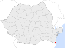 Location of Mangalia