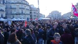蒙彼利埃支持法国同性婚姻合法化大游行