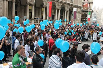 Pro-Test - A Pro-Test Italia demonstration in Milan