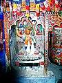 Manjushri statue. Lalung Gompa, Spiti.jpg