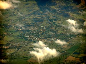 Mansfield, Victoria - Aerial view of Mansfield.