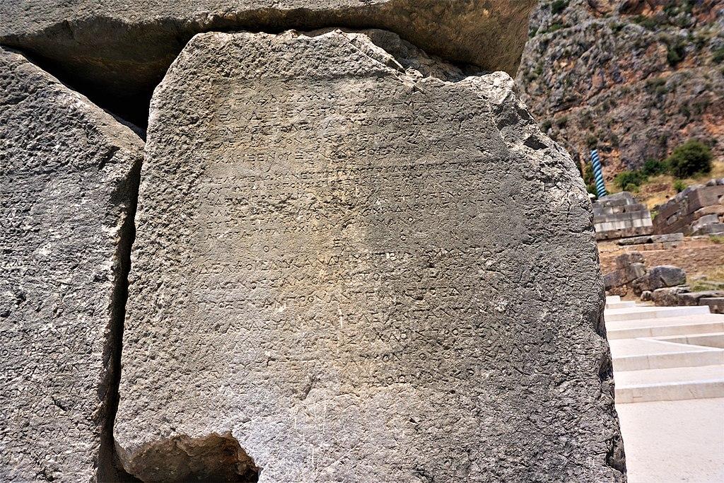Manumission Inscriptions at Delphi