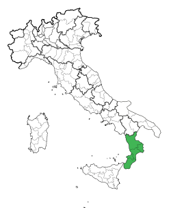Map Region of Calabria.svg