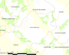 Map commune FR insee code 32325.png