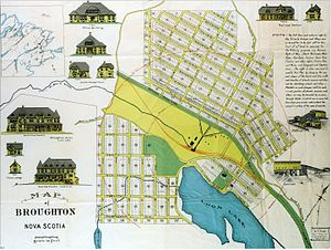Broughton, Nova Scotia - Planned Development c.1905