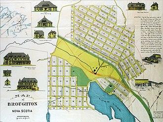 Broughton, Nova Scotia - Planned Development c.1905