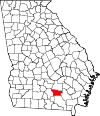 Map of Georgia highlighting Atkinson County.svg