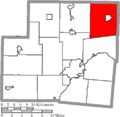 Map of Shelby County Ohio Highlighting Jackson Township.png