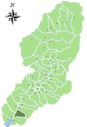 Pian Camuno - Location of Pian Camuno in Val Camonica