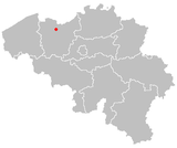 Map of gent in belgium.PNG