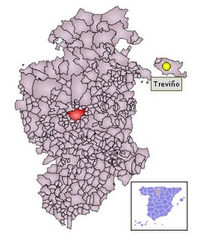 Condado de Treviño - Treviño as an exclave of the province of Burgos.