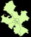 Mapa de Distritos del Municipio de Zaragoza.png