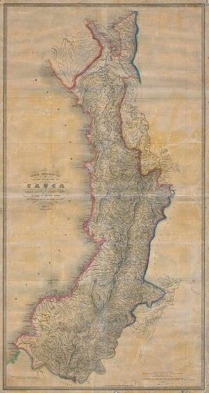 Cauca State - 1865 Sovereign State of Cauca