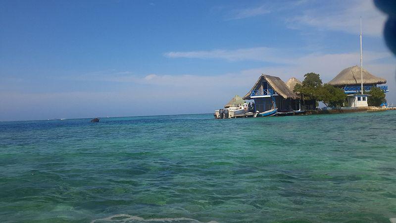 mar da Isla del Rosario