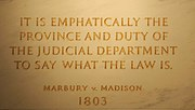 Marbury v Madison John Marshall by Swatjester crop