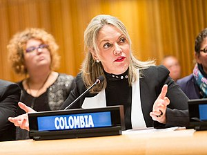 María Emma Mejía Vélez - Image: Maria Emma Mejia V