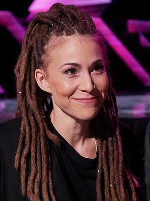 Mariette Hansson - Mariette Hansson in Melodifestivalen 2017