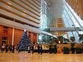 Marina Bay Sands Hotel Lobby view 201012.jpg