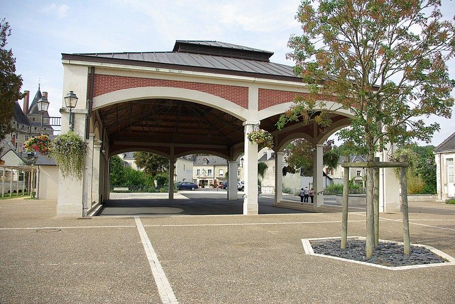 Halle de Langeais.