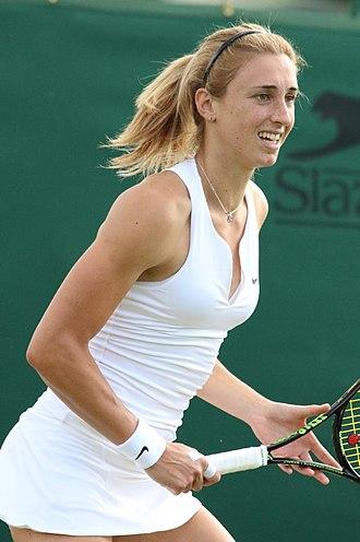 Petra Martić - Martić at upthe 2016 Wimbledon Qualifying