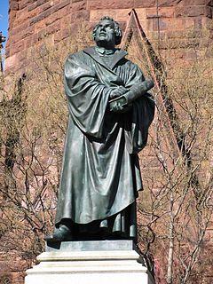 Luther Monument (Washington, D.C.) artwork by Ernst Friedrich August Rietschel