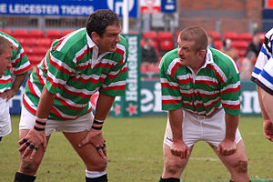 Martin Johnson (rugby union) - Martin Johnson and Graham Rowntree.