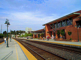 Martinez, California - Amtrak station in Martinez