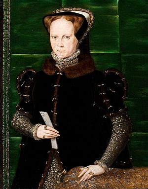 Tudor period - Image: Mary 1 by Eworth 3