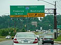 Maryland Route 118 (northbound), Germantown, Maryland, June 10, 2014.jpg