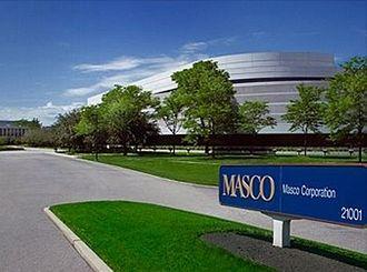 Taylor, Michigan - Headquarters of Masco Corporation, located at 21001 Van Born Road in Taylor, Michigan.