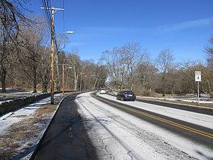 Massachusetts Route 4 - Massachusetts Avenue in Lexington