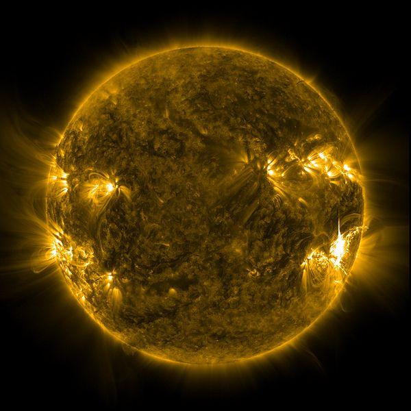 File:Massive X-Class Flare Released on June 6 (full disk) - Flickr - NASA Goddard Photo and Video.jpg